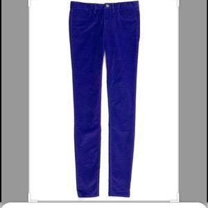 Madewell 30 x 32 skinny corduroy pants cotton